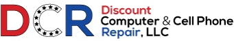 Discount Computer & Cell Phone Repair Logo